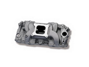 Weiand 8019 Stealth&#59; Intake Manifold&#59; Satin Finish&#59; Non-EGR&#59; Power Band To 5800 RPM&#59; Oval Port&#59; Not
