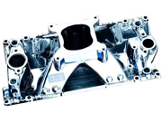 Professional Products 52035 SB Chevy Hurricane+Plus  Manifold   Satin
