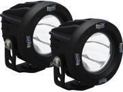 Vision X XIL-OPR110KIT Optimus Round Black 1 10w Led 10° Narrow Kit Of 2