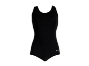 Dolfin Ocean Conservative Solid Lap Suit Female Black 12