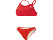 Tyr Solid 2 PC Female Red Small