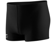Speedo Solid Square Leg Male Black 32