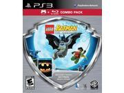 Lego Batman With Batman Blu Ray Movie Combo Pack PlayStation 3 0PW-001G-00009