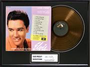 Elvis Presley/something For Everybody Ltd. Edition Gold Record