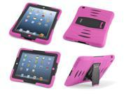 Caseiopeia Keepsafe Kick Rugged Heavy Duty iPad 2/3/4 Case with Kickstand and Screen Protector Designed for Kids and Schools