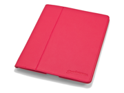 Slim Red iPad 3 Case: The Ridge by Devicewear - Vegan Leather New iPad Case with Six Position Stand With On/Off Switch