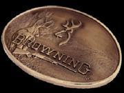 Browning Buckmark Deer Belt Buckle