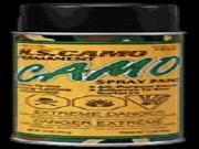 Hunters Specialties *16Oz Flat Black Camo Spray Paint