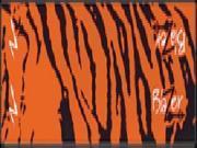 Bohning Blazer Carbon Orange Tiger Wrap