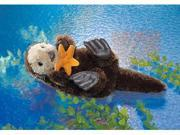 """Sea Otter Puppet 15"""" by Folkmanis Puppets"""