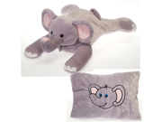 Elephant Peek-A-Boo Plush Pillow 19