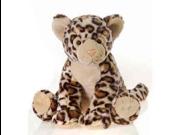 """Sitting Snow Leopard 12"""" by Fiesta"""