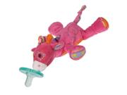 "Jasmine Pink Giraffe WubbaNub 5"" by Mary Meyer"