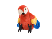 Red Macaw Parrot Cuddlekin 12