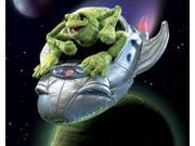 Folkmanis Frog in Spaceship Character Hand Puppet