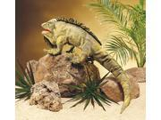 """Iguana Puppet 32"""" by Folkmanis Puppets"""