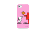 iLuv Snoopy Sports Pink Hardshell Case For iPhone 5 ICA7H383PNK