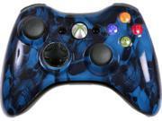 Custom Xbox 360 Controller: Blue Skullz