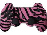 Custom PS3 Controller - Pink Zebra PlayStation 3 Controller