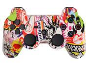Custom PS3 Controller - Sticker Bomb PlayStation 3 Controller