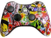 Custom Xbox 360 Controller: Sticker Bomb