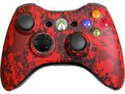 Custom Xbox 360 Controller: Red Urban