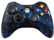 Custom Xbox 360 Controller: Blue Zombie Hazard