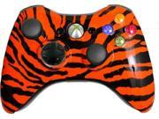 Custom Xbox 360 Controller: Orange Zebra