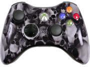Custom Xbox 360 Controller: White Skullz