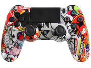 PlayStation 4 Dualshock 4 - Custom PS4 Controller with Sticker Bomb Shell