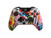 Xbox One Custom Xbox One Controller with Sticker Bomb Shell