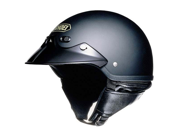 SHOEI ST-CRUZ MOTORCYCLE HALF HELMET MATTE BLACK XS