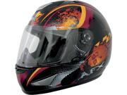 AFX FX-95 Stunt Full Face Helmet Orange SM 9SIA1450U13632
