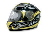AFX FX-90 W-Dare Full Face Helmet Yellow SM 9SIA1450U13741