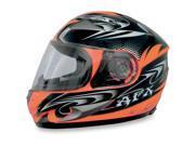 AFX FX-90 W-Dare Full Face Helmet Safety Orange SM 9SIA1450U14599