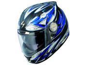 Scorpion EXO-1100 Street Demon Full-Face Helmet Blue XS