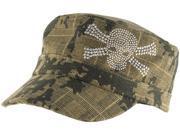 Zan Headgear Highway Honey Womens Hat/Cap Camo Studded Skull 9SIA1450UY5619