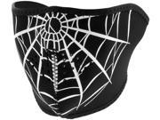 Zan Headgear Half Face Neoprene Mask  Spider Web 9SIA1450UY6992