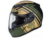 HJC CL-17 Mech Hunter Helmet Green/Tan/Black MD