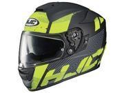 HJC RPHA-ST Knuckle Helmet Black/Neon Green MD