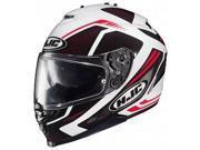 HJC IS-17 Spark Motorcycle Helmet White/Black/Red SM 9SIA1452T13439