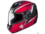 HJC CS-R2 Seca Motorcycle Helmet Red/Black LG