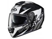 HJC RPHA-ST Rugal Helmet Black/White/Grey MD 9SIA1452T28737