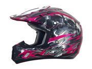 AFX FX-17 Inferno MX Offroad Helmet Fuchsia Multi XL 9SIAAHB54Y9679