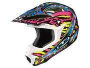 HJC CL-X6 Fuze MX Helmet Pink/Yellow 2XL