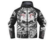 Icon Merc Vitriol Mens Textile Jacket  Black/White 3XL 9SIA1453FB2822