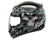 Icon Airmada Vitriol Full Face Helmet  Black/Gray SM 9SIA1453FB3265