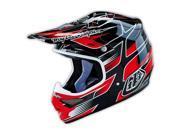 Troy Lee Designs Air Starbreak 2016 MX/Offroad Helmet Black/Red/White SM 9SIA17P7D97670