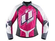 Icon Overlord Womens Sweet Dream Jacket Pink/White MD 9SIA1453G42745