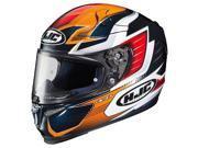 HJC RPHA-10 Pro Elsworth Helmet Orange/Red/Black LG 9SIA1453MN9266